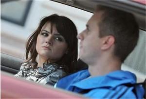 Петя Дикова в колата на тайно гадже