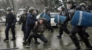 Ченгета пребиха мъж в Районното управление