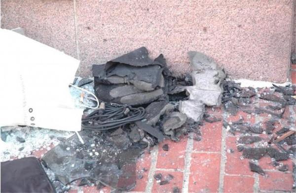 Една от бомбите в Бостън