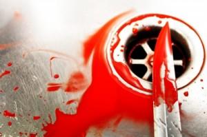 кървав нож