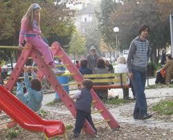 деца площадка