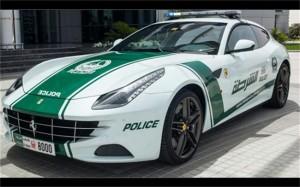 Ферарито на дубайската полиция