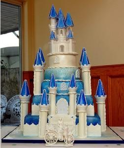 замък - торта
