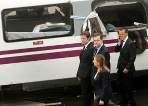 High-speed train derailment in Spain