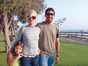 Башар със семейството си