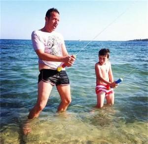Деян Донков и сина му