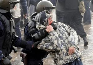 протести бой