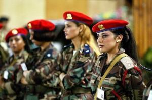 амазонките на Кадафи