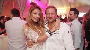 Венета Харизанова и мъжът й