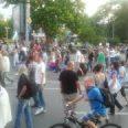 протест бой
