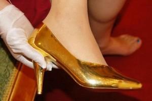 златни обувки