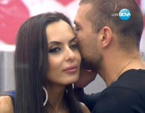 Тервел целува Лияна