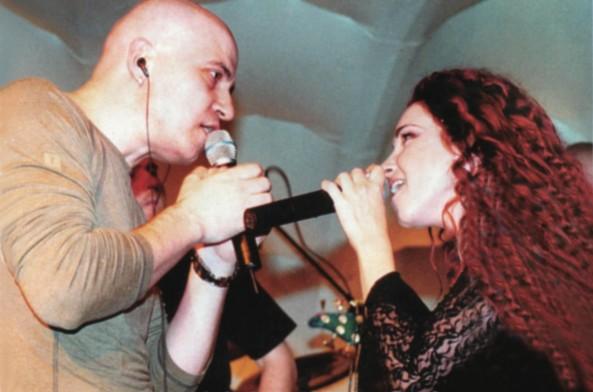 Слави Трифонов и Алекс Раева