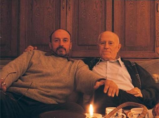 Взаимната гордост на баща и син