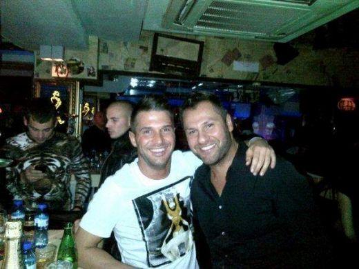 Борис Папазов (вляво) има да връща пари на Богдан Асенов и за по-удобно се престорил на ограбен