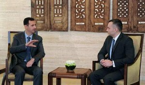 Николай Младенов кандърдисва Башар Асад да спре репресиите