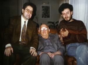 Тодор Живков в компанията на Иван Гранитски и младия Соломон Паси