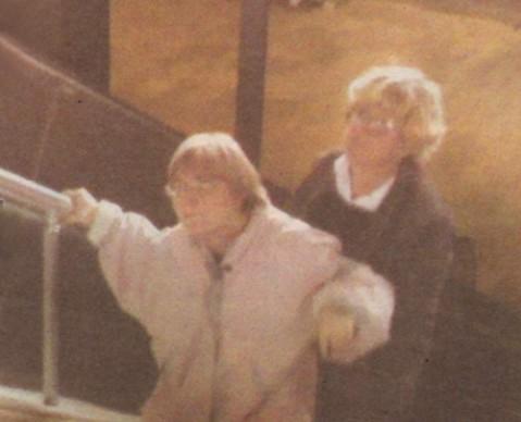 Тоня Стойкова с дъщеря си Божана