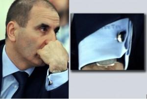 Цветан Цветанов е достатъчно суетен, за да носи ризи със собствените си инициали