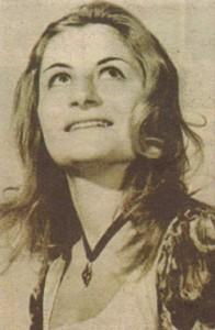 Така изглеждала Вера Маринова през 1972 г.