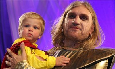 Коцето Калки и синът му