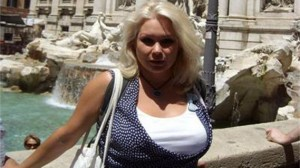 Актрисата убожава Италия