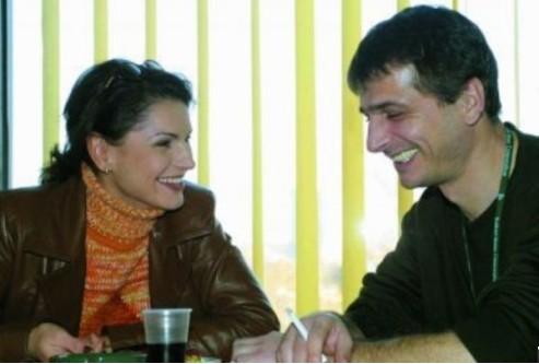 Ани Салич със съпруга си Бранко