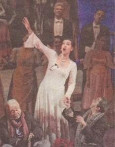 На сцената на Националния музикален театър