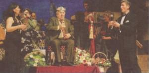 ц Щастлив и вълнуващ миг - да пее за родственика си Калоянчев