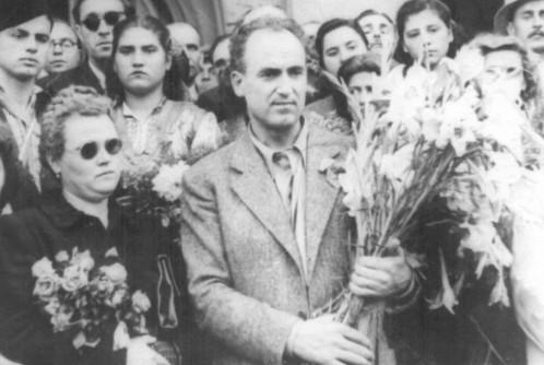 Посрещането на Г. М. Димитров в България, 1944 г.
