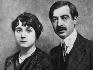 Лора и Яворов през пролетта на 1913 г.