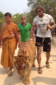 Любомир Симеонов - Любо Чука монаси будисти тигър