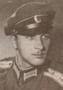 1941 г, взводен командир в Скопие