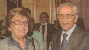 С втората съпруга се запознават на Коледата през 1961 г. и оттогава са неразделни