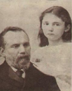 Петко Каравелов и Лора през 1902 г.