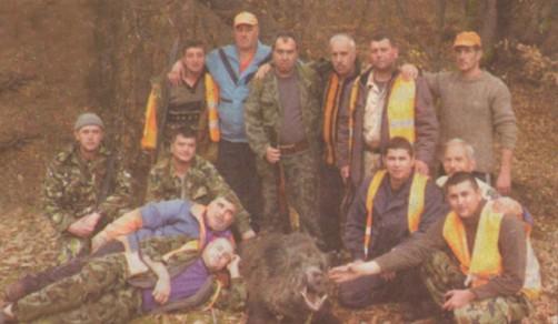 Сборната дружина Ведраре след поредния успешен лов