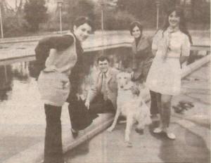 Мария Нейкова (първата вдясно) с любими колеги: Мими Иванова, Борис Гуджунов, Паша Христова