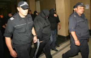 Бандата на Куфара на път към съдебната зала
