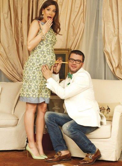 Теди Велинова бременна