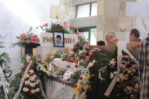 гого погребение