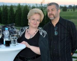 Алена със съпруга си Андрей