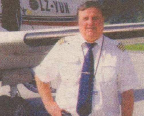 Пилотът Ангел Миланов