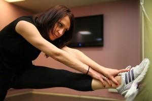 Ани тренира от две години със степ аеробика, а от няколко месеца и кангоджьмп