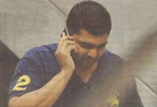 Този човек, Антони Сантия Радж, комуникирал с Боби Михайлов и свитата му в БФС преди скандалната контрола България - Естония (2:2) в Анталия