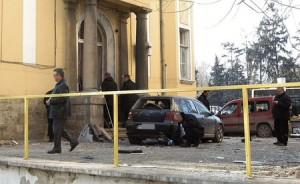 """След бомбения атентат пред редакцията на вестник """"Галерия"""""""