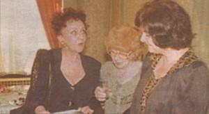 2002 г. Една от последните снимки на доайенката (в средата)