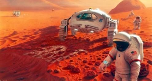 Полетът и кацането на Марс са планирани като най-скъпото риалити шоу в историята