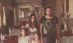 Принцеса Мими със сина си и двете си племеннички