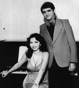 Катя и Здравко в началото на любовта им през 1975 г.