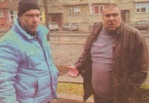 Ромският бос Йордан Методиев (вдясно) и бизнесменът Явор Костов са готови да свидетелстват за безобразията на зам.-кмета